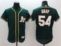 Wholesale 2016 Flex Base Oakland Athletics Sonny Gray Grey White Green Fashion Grey Flexbase Stitched Baseball Jerseys