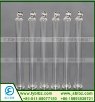 Wholesale Ball head glass dropper glass pipette Glass straws Glass buret with a tip head