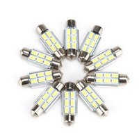 Wholesale DHL Free mm SMD Canbus Error Free LED Bulb Festoon Lights License Plate Aluminum Shell Dome Reading Light