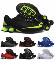 Wholesale 2016 New Shox NZ Running Shoes Mens Cheap Original White Black Shox NZ Lace Sneakers Shoes Sport Shox Shoes Size