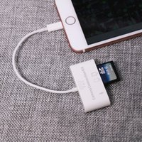 apple sd reader - Apple Lightning to synchronize the camera SD card reader interface for Apple Tablets