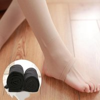 Wholesale Micro pressure stovepipe spring and autumn thick flesh colored stockings gray pantyhose thick leggings step foot color stockings ZW01
