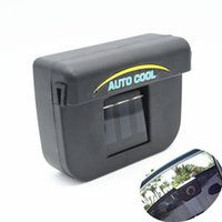 Wholesale Solar Powered Car SUV Auto Air Vent Cool Fan Cooler Ventilation Radiator System Keeping Fresh Air