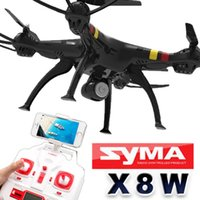 Wholesale SYMA x8w FPV RC Drone Axis Professional Quadcopter With WiFi Camera RC Helicopter