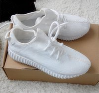 basketball shoes com - Lowest Price Com on Athletic kanye west Boost Running Shoes White and Beige Mens Womens Kanye West Boost Sport Outdoor Shoes