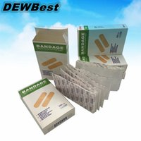 Wholesale 100 waterproof Wound dressings paste Sterile disposable dressing paste New Gauze piece Non woven aid bande medical band
