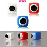 auto image camera - Super Mini Compact Handheld Auto Selfie Pocket Camera Wifi Action Camera D Wide Angle P FPS App Remote Control MP Cam