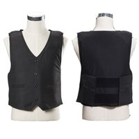 airsoft police vest - TacticalStealth V neck Soft thin and light Police Vest Stab resistant clothing Paintball Airsoft self defense stichsichere weste