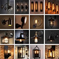 Wholesale Special offer shipping Loft retro industrial wind wall Bar Cafe outdoor corridor balcony outdoor waterproof commercial lighting hot sell