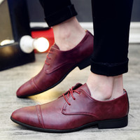 Wholesale ZNPNXN Fashion Italian Designer Formal Mens Dress Shoes Leather Black Luxury Wedding Shoes Men Flats Office For Male