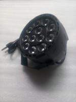 Wholesale 12 Mini Plastic Par Light LED Par Light Plastic Colored Small Par Light