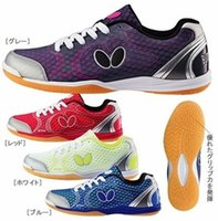 Wholesale Men s women s Butterfly table tennis ball shoes UTOP breathable sports professional shoes Colors size