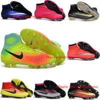 Wholesale original mens cr7 soccer shoes magista obra fg soccer cleats for men magista superfly football boots mercurial superfly botines de futbol
