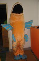 Cheap Golden carp Mascot Mascot Costume