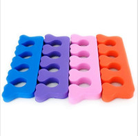 Wholesale Soft Form Toe Separator Finger Spacer For Manicure Pedicure Nail Tools pairs