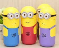 Wholesale Despicable Me Minion Cup Thermos Mug Thermal Bottle ml Mimions Garrafa Termica Infantil Thermocup