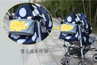 Wholesale Hot selling baby strollers Accessories Baby Carriage Pram Cart Bottle Diaper Bag Polyester Newborn Nappy Bag Stroller bag