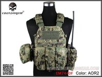 Wholesale EMERSON GEAR LBT6094A Style Vest with Pouches Airsoft Painball Military Army Combat Gear EM7440F AOR2