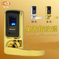 Cheap Wholesale-Digital Safe Remote Control Code Password Sliding Biometric Fingerprint door lock