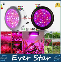 Wholesale 1pcs Full Spectrum Led UFO W Led Grow Light Plant Growing Lamo For Flower Vegetables X3W Led Chip AC V