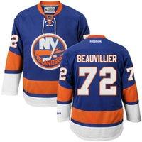 anthony new york - New York Islander Hockey Jersey Anthony Beauvillier Mikhail Grabovski Mens Hockey Jerseys Name and Number All Stitched Logos