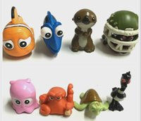 Wholesale Finding Nemo Nemo And Dory Sea turtles clownfish Pvc CM Action Figure On Mobile Bag pendant