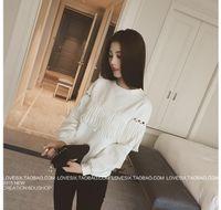 Wholesale Autumn Clothing Women Under Shirts Korea Style Tassel Shirt Long Sleeve Student Shirts Cotton