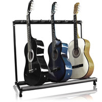 Wholesale Guitar Stand Holder Guitar Folding Stand Rack Band Stage Bass Acoustic Guitar
