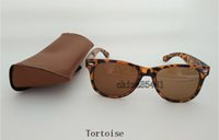 Cheap Tortoise New Designer Fashion Mens Womens Sunglasses UV Protection Sport Vintage Women Sun glasses Retro Eyewear With Original box