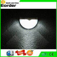 Wholesale Waterproof LED Solar Power Light Sensor Wall Light Outdoor Garden Fence Lamp