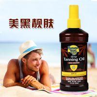 Wholesale America banana boat beauty black deep bronze tanning oil SPF4 ml Sun bronzed skin for men and women Hot sales