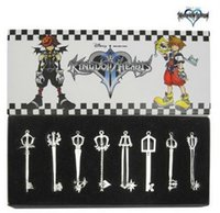 arsenal accessories - Kingdom Hearts arsenal generation long paragraph necklace pendant jewelry classic cartoon animation around silver money