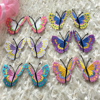appliques for sewing - pairs embroidered patches for sewing size is cm cm butterfly flower applique handmade iron on sewing accessories zakka DIY