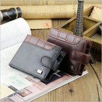 Wholesale billeteras clutch Style Men Wallets Short Standard leather wallet Dollar Package Coin Purse Card ID Holder carteira masculina