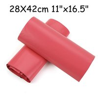 Wholesale CM Plastic Envelope Express Mailing Bags Purplish Red Self Adhesive Poly Mailer Bags Courier Poly Mailing Bags