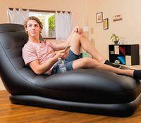 Wholesale Upscale backrest recliner sofa lazy leisure inflatable sofa BT204