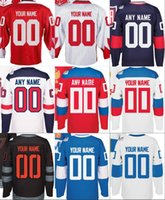 america team - Men s All of the teams World Cup of Hockey North America Russia Sweden Finland America team Custom Jersey