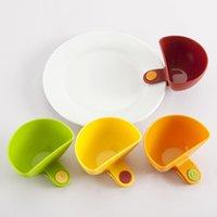 Wholesale 3PCS Mini Clip on Seasoning Container Set Vinegar Sauce Bowl Kitchen Random Color