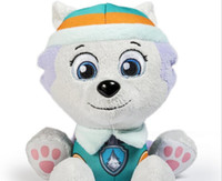 Wholesale hot P aw Patrol Plush Toys New Style With Paw Print cm Patrol Doll Toy Marshall Chase Figure Zuma Rocky Rubble Kids toys