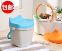 Wholesale Plastic stool stool waterproof storage stool instoragebarrels shoes stool fishing stool stool of children