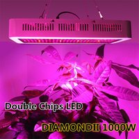 Wholesale DIAMOND II W Double Chips LED Grow Light Full Spectrum nm Red Blue White UV IR For Indoor Plants and Flower Phrase