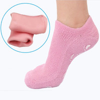 Wholesale New Soft Spa Gel Socks Moisturize Socks for dry foot Moisturizing Treatment Socks Soften Cracked Skin Treatment