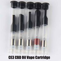 Wholesale Bud Touch O Pen Vape Cartridge ml CBD THC Oil Cartridge PP Tube Package