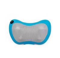Wholesale Home car dual use multifunction dish massager car massage pillow cervical lumbar leg massager infrared heating body massager