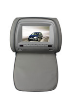 Wholesale 2x quot headrest car dvd USB SD FM IR game remote control OSD lang AV