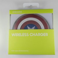 android based phone - 2016 New Captain America iron man wireless charger pad charger charging for Apple android samsung S6 wireless phone charger base
