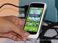 "Cheap wholesale Original 4pcs quad brand cheap phone WCDMA 3G ZTE V880 MSM7227 Single core Android 2.3 256RAM 3.5"" free shipping"