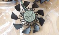 asus heatsink fan - For ASUS STRIX GTX780 TI GTX970 R9 x X graphics card fan T129215SU V A Curved leaves