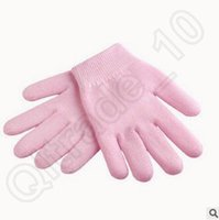 Wholesale 300pcs CCA3784 High Quality Pink Gel Spa Gloves Moisturize Soft Repair Cracked Skin Treatment Spa Gloves Hand Mask Care Moisturizing Gloves