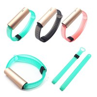 band misfits - Newest Replacement Classic TPU Watch Wrist Band Strap For Misfit Ray Wristband Bracelet No Tracker FC0046